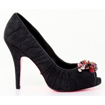 Παπούτσι γυναικεία παπούτσια betsey johnson-δέρμα καστόρι μεταλιζέ ... 3fa86ac9090