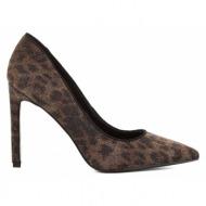 γυναικεία παπούτσια nine west-ύφασμα λεοπάρ