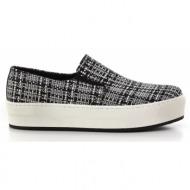 γυναικεία παπούτσια feng shoe-υφασμα boucle