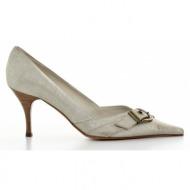 γυναικεία παπούτσια haralas-δέρμα καστόρι burma