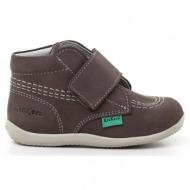 παιδικά παπούτσια kickers-δέρμα νούμπουκ