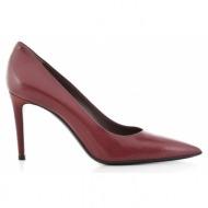 γυναικεία παπούτσια dei mille-δέρμα σεβρώ