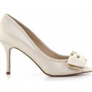 γυναικεία παπούτσια nine west-ύφασμα σατέν