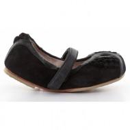 παιδικά παπούτσια bloch-δέρμα καστόρι