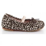 παιδικά παπούτσια bloch-δέρμα καστόρι λεοπάρ