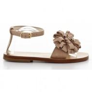παιδικά παπούτσια feng shoe petit-δέρμα καστόρι