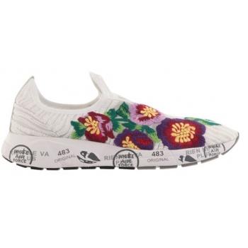 3e2ab032281e Παπούτσι γυναικεία παπούτσια premiata-ύφασμα πλεκτό   κέντημα με ...