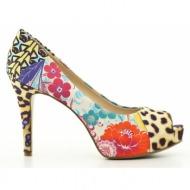 γυναικεία παπούτσια nine west-ύφασμα