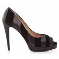 γυναικεία παπούτσια kαλογήρου private label-δέρμα καστόρι και μαλακό δέρμα νάπα