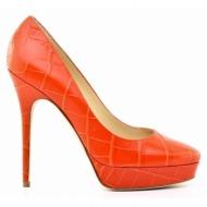 γυναικεία παπούτσια jimmy choo 24:7-σταμπωτό δέρμα κροκό