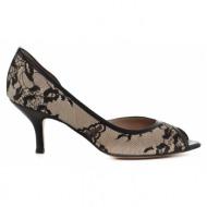 γυναικεία παπούτσια kαλογήρου private label-μαλακό δέρμα νάπα και υφασμα