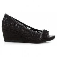 γυναικεία παπούτσια nine west-ύφασμα δαντέλα